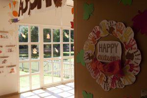 Autumn in our nursery school