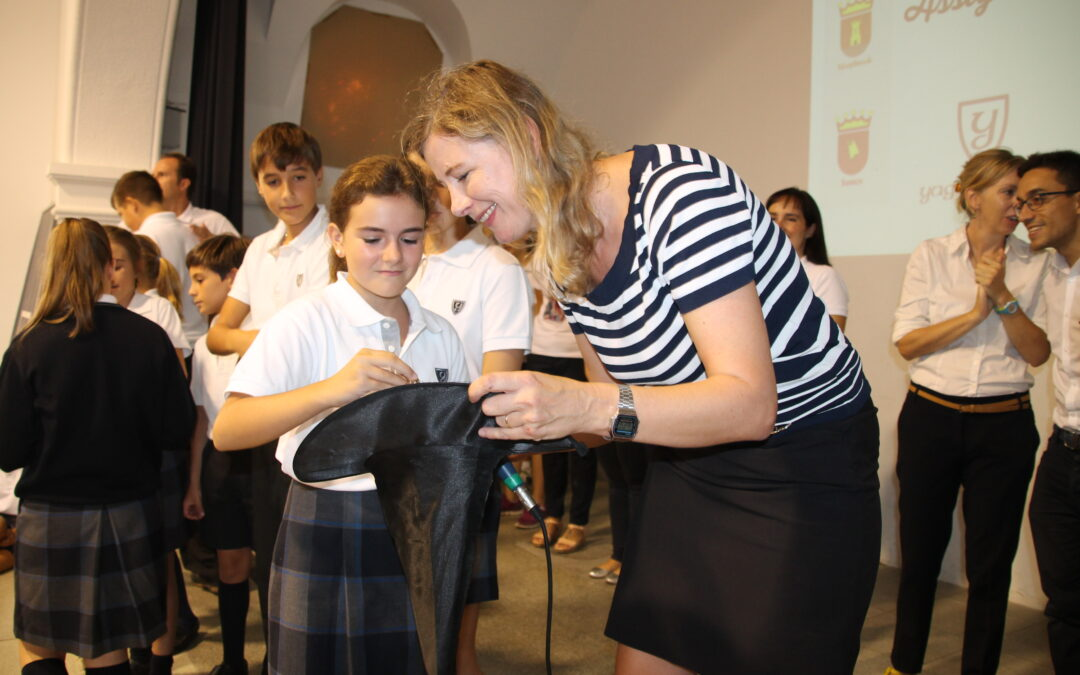 HOUSE ASSIGNMENT CEREMONY IN THE PRIVATE BILINGUAL YAGO SCHOOL