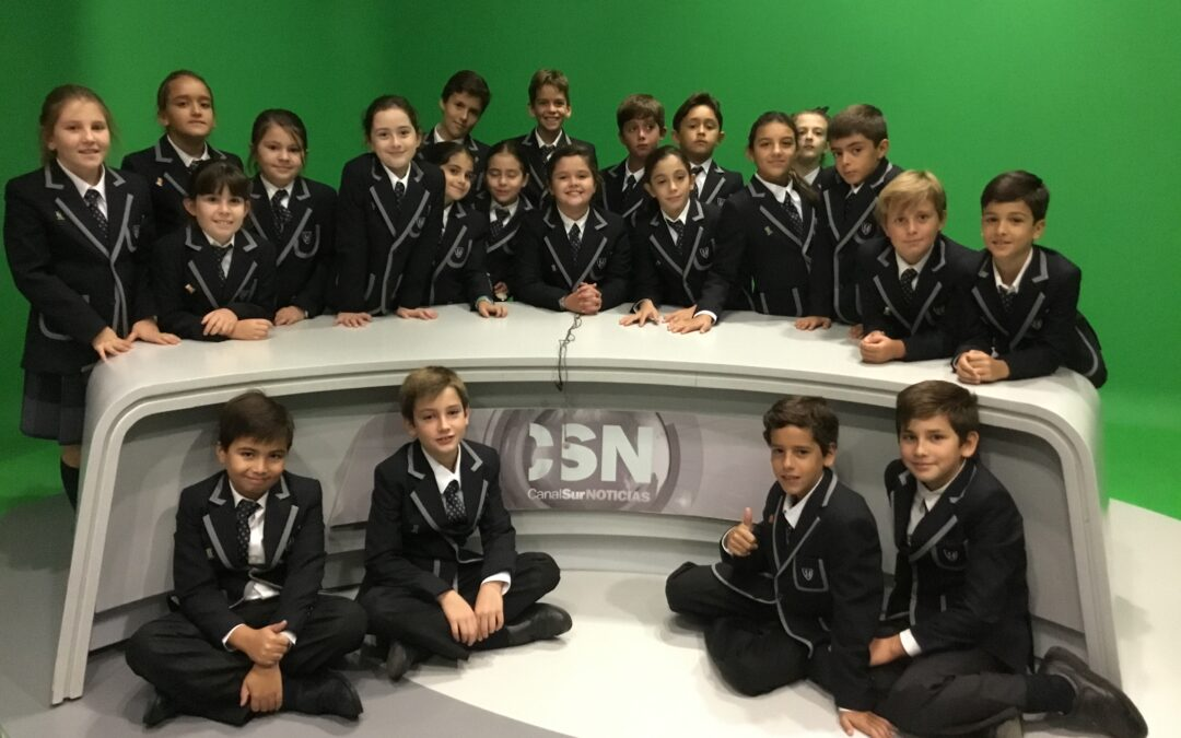 UNDERSTANDING TELEVISION: PRIMARY 4 AT CANAL SUR STUDIOS