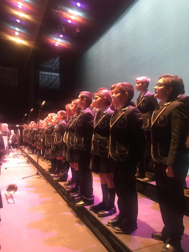 THE YAGO SCHOOL CHOIR SANG THE SYMPHONIC CONCERT WITH SIEMPRE ASÍ AND THE ROYAL SYMPHONY ORCHESTRA OF SEVILLE
