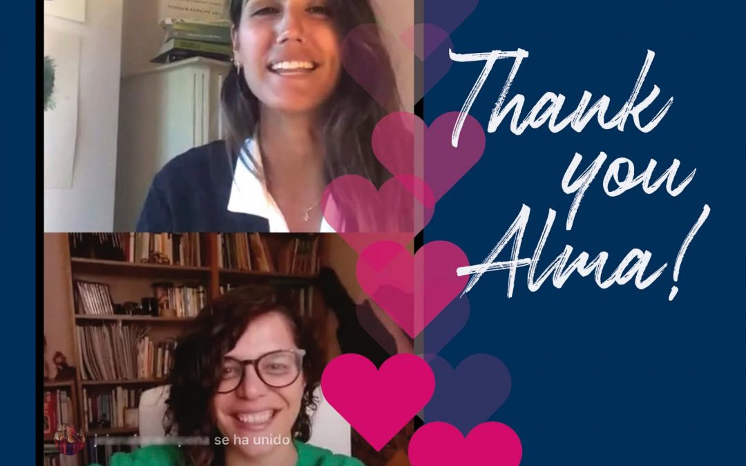 FIRST INSTAGRAM DIRECT WITH ALMA SERRA, A REFERENCE IN EMOTIONAL EDUCATION