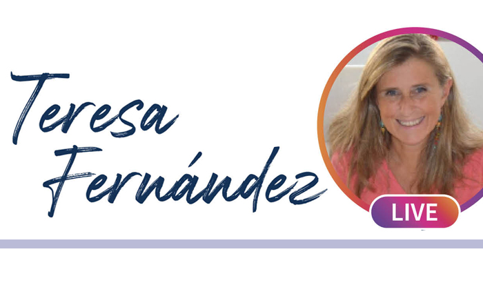 WE RECEIVED TERESA FERNÁNDEZ LIVE,  AS A CONTINUATION OF OUR PARENT SCHOOLS