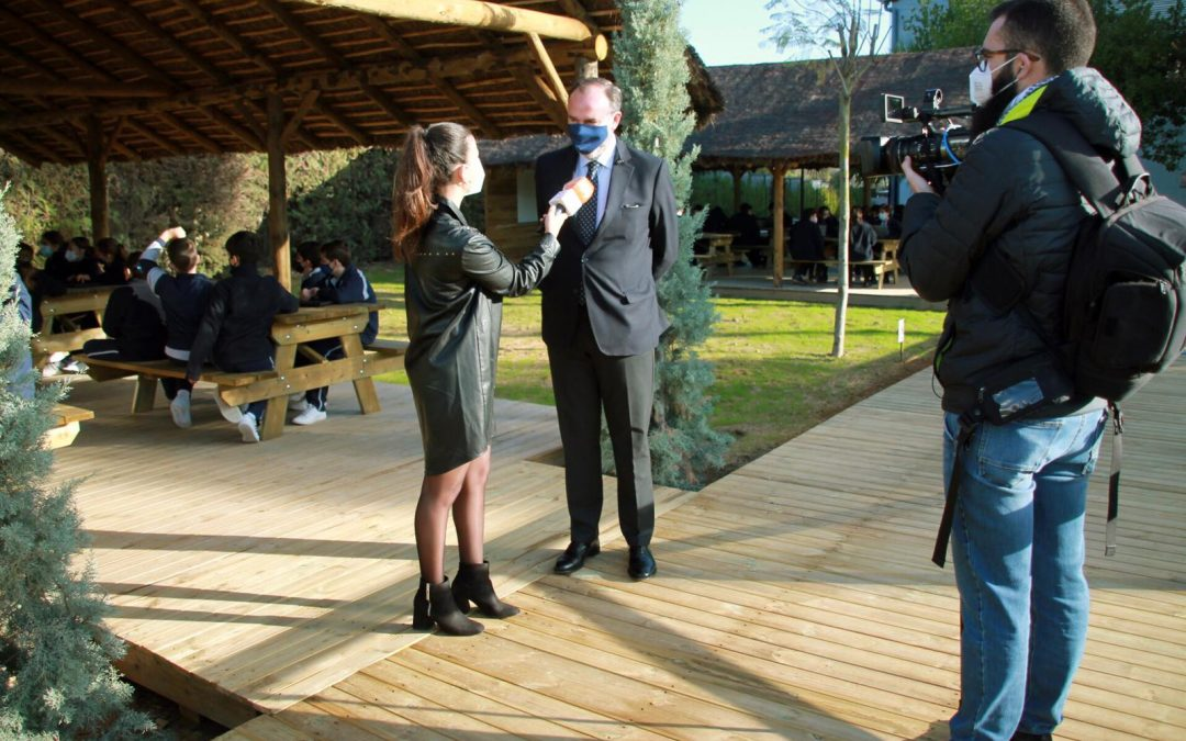 CANAL SUR REPORTS ON YAGO SCHOOL'S INNOVATIVE NATURE CLASSROOMS