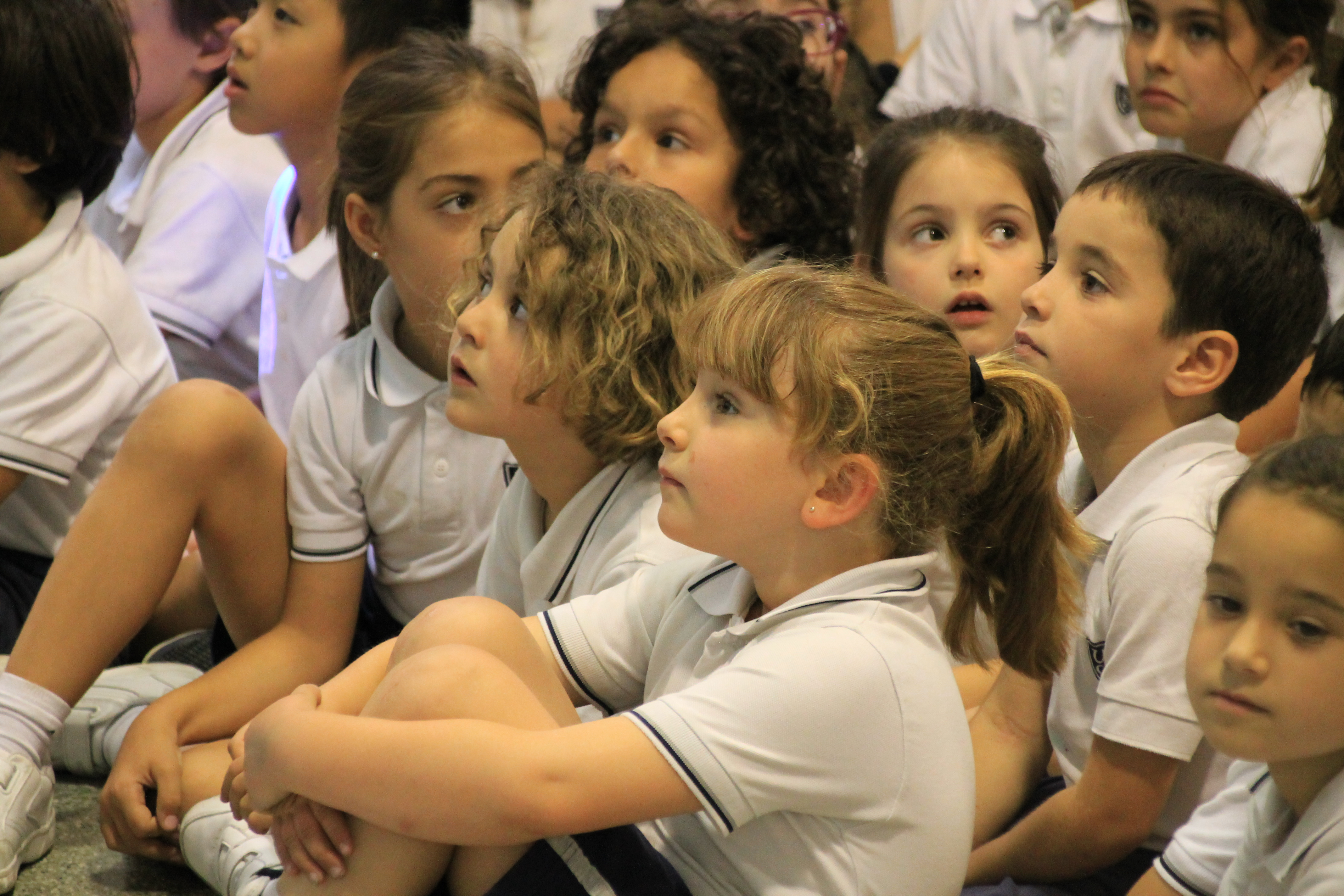 Primary welcomes Infant 5 in their last Assembly