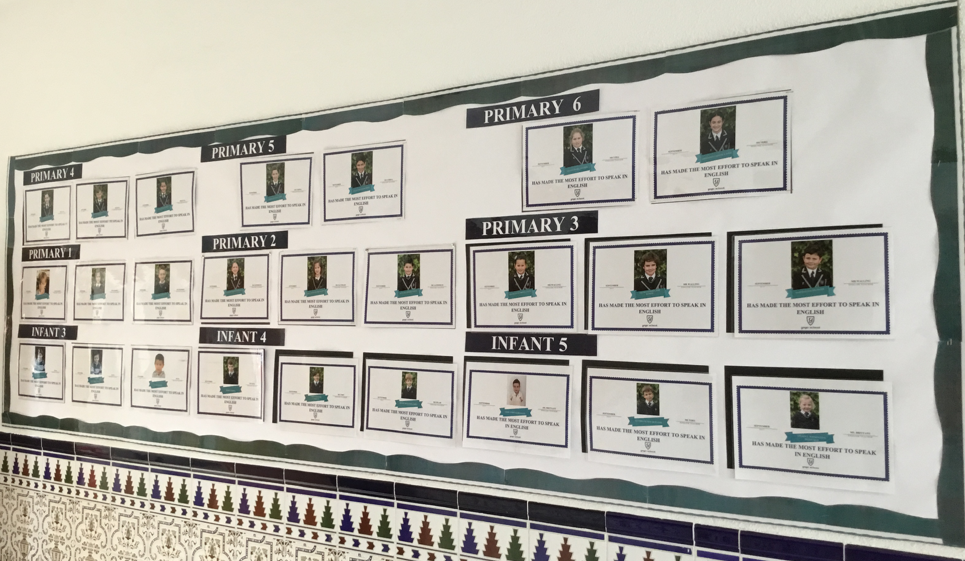 The Noticeboard of English Speakers of the Month
