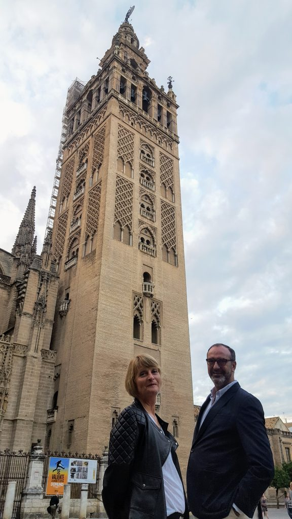 MS. HAYES AND MR. RESA IN SEVILLE (2)