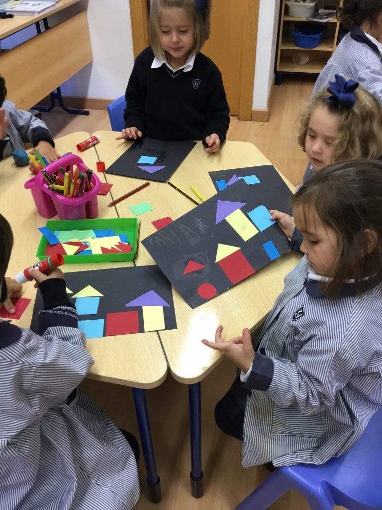 Infant 4 discovers Paul Klee in Art