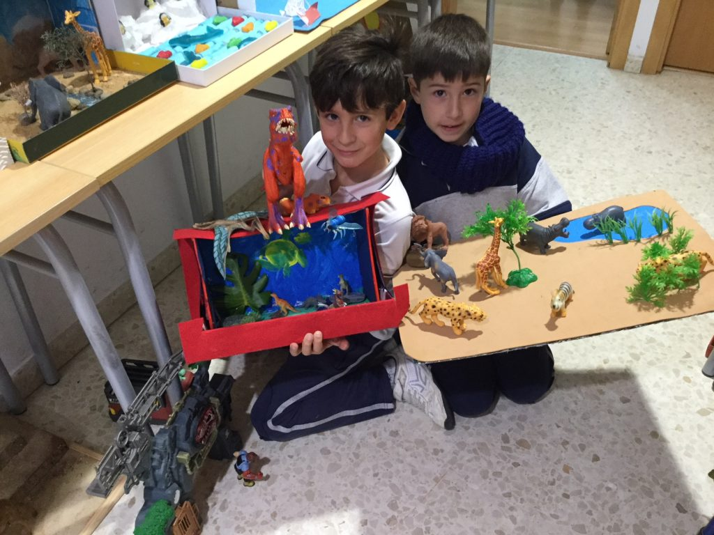 Natural Science in Primary 2: Animal Habitats Project