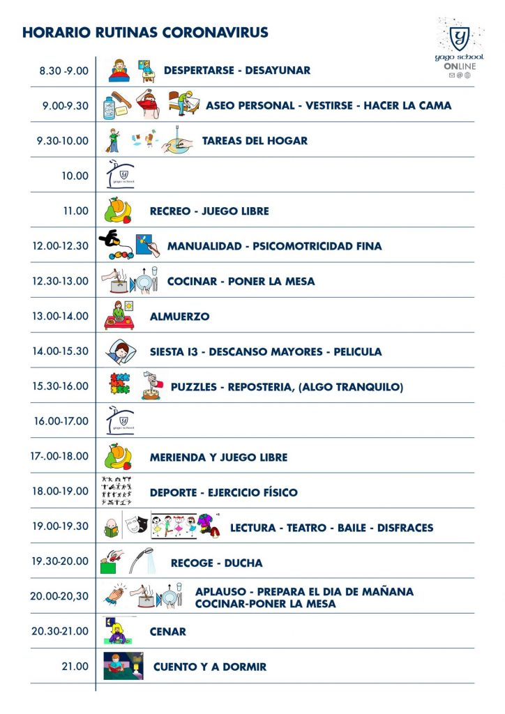 THE IMPORTANCE OF HABITS AND ROUTINES FOR YAGO SCHOOL STUDENTS