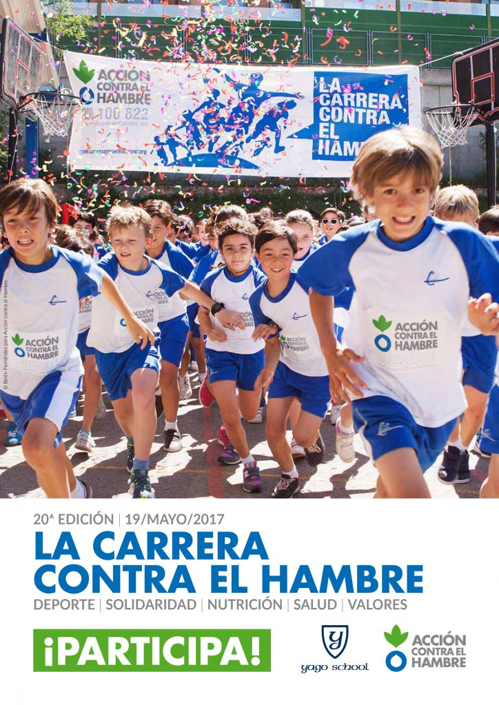 Yago School will participate in The Race Against Hunger 2017