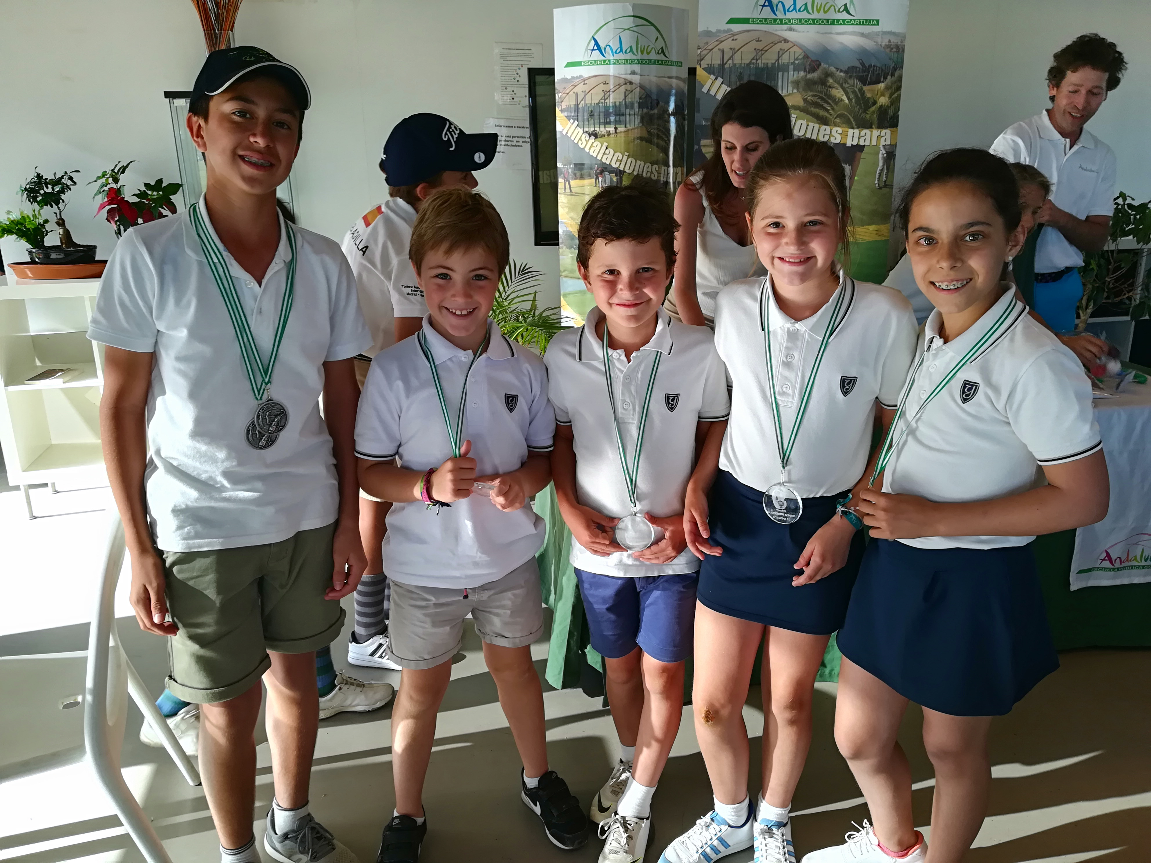 Yago School students participated in a Golf Fair and Tournament