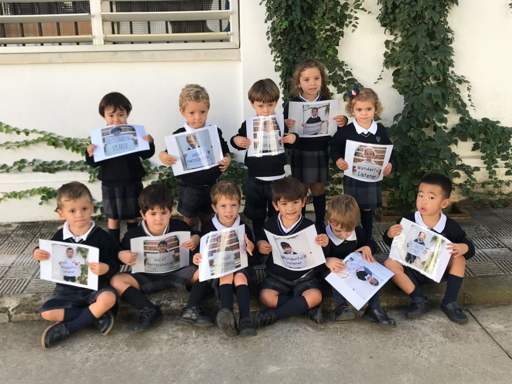 English Students of the Month. Infant in Yago School