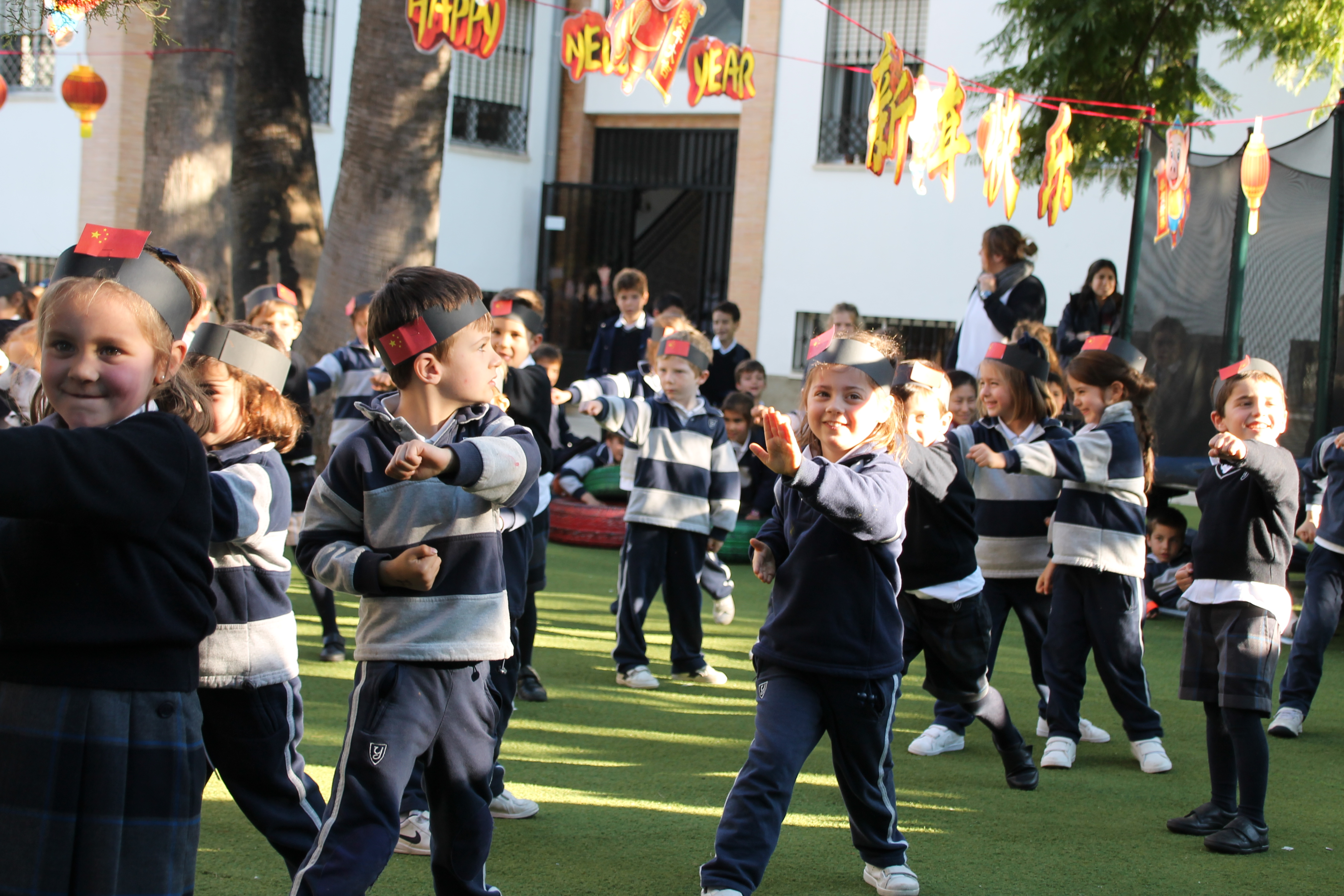 Physical Education and Chinese: Tai chi in Infant
