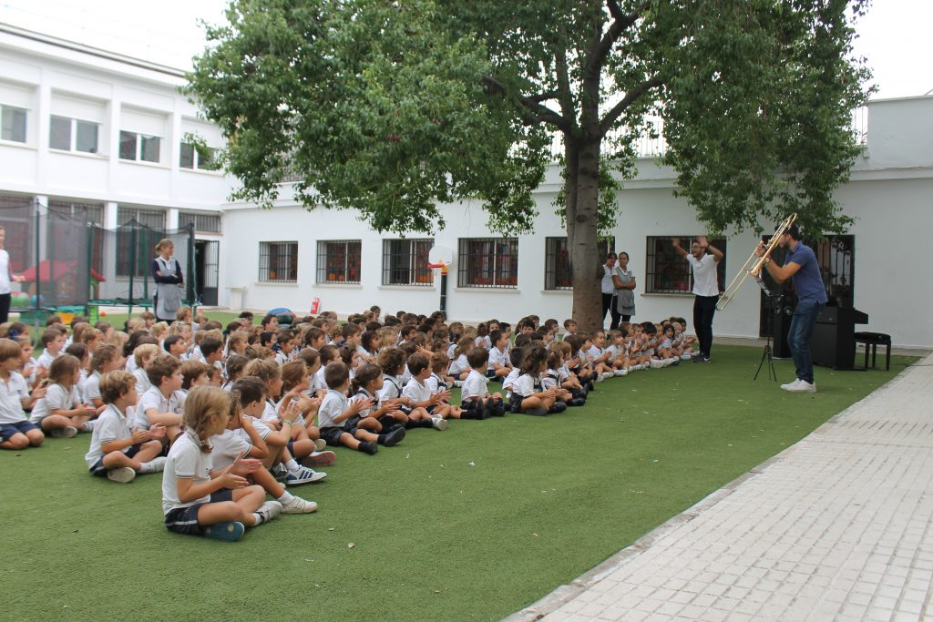 Musical assembly in yago school