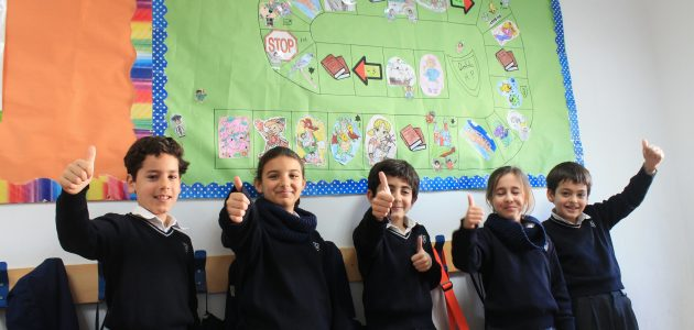 Promote reading with the Game of Goose in Yago School