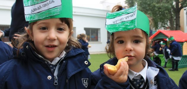 celebration of the andalusian day in Yago school