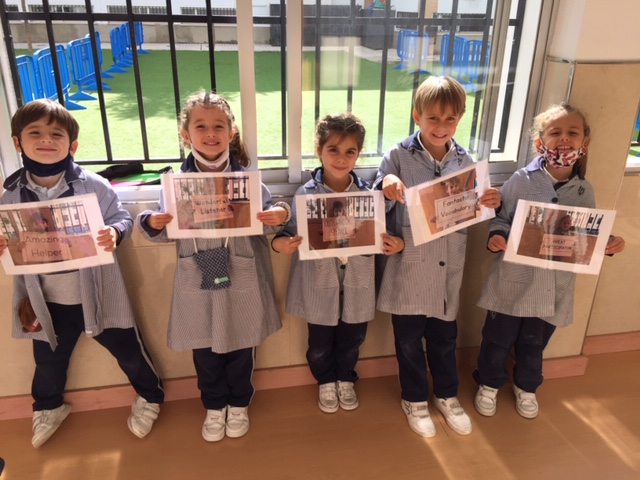 English Awards for our Infants