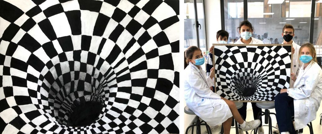 YAGO SCHOOL STUDENTS LEARN ART IN A DIFFERENT WAY