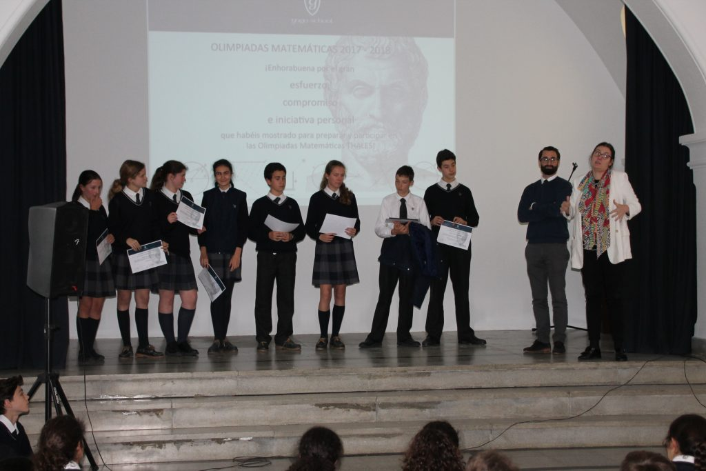 PRIZES AT THE MATHEMATICS OLYMPIAD IN SEVILLE