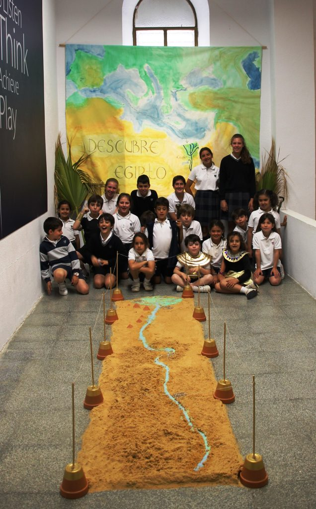 LEARNING FOR PROJECTS: INTERACTIVE EGYPT MUSEUM