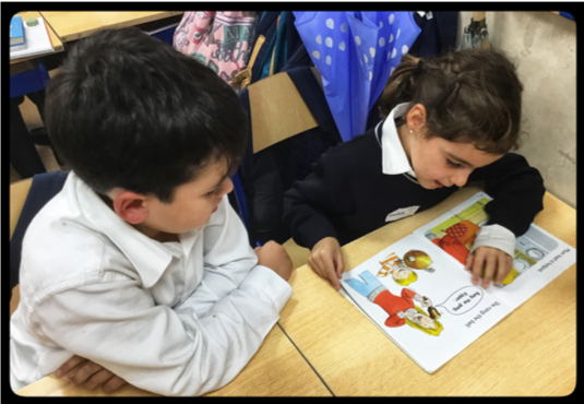 The Reading Buddies are here!