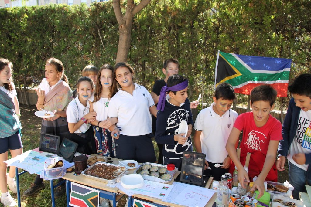 TWO-WEEK PERIOD OF CROSS-CURRICULAR PROJECT IN PRIMARY