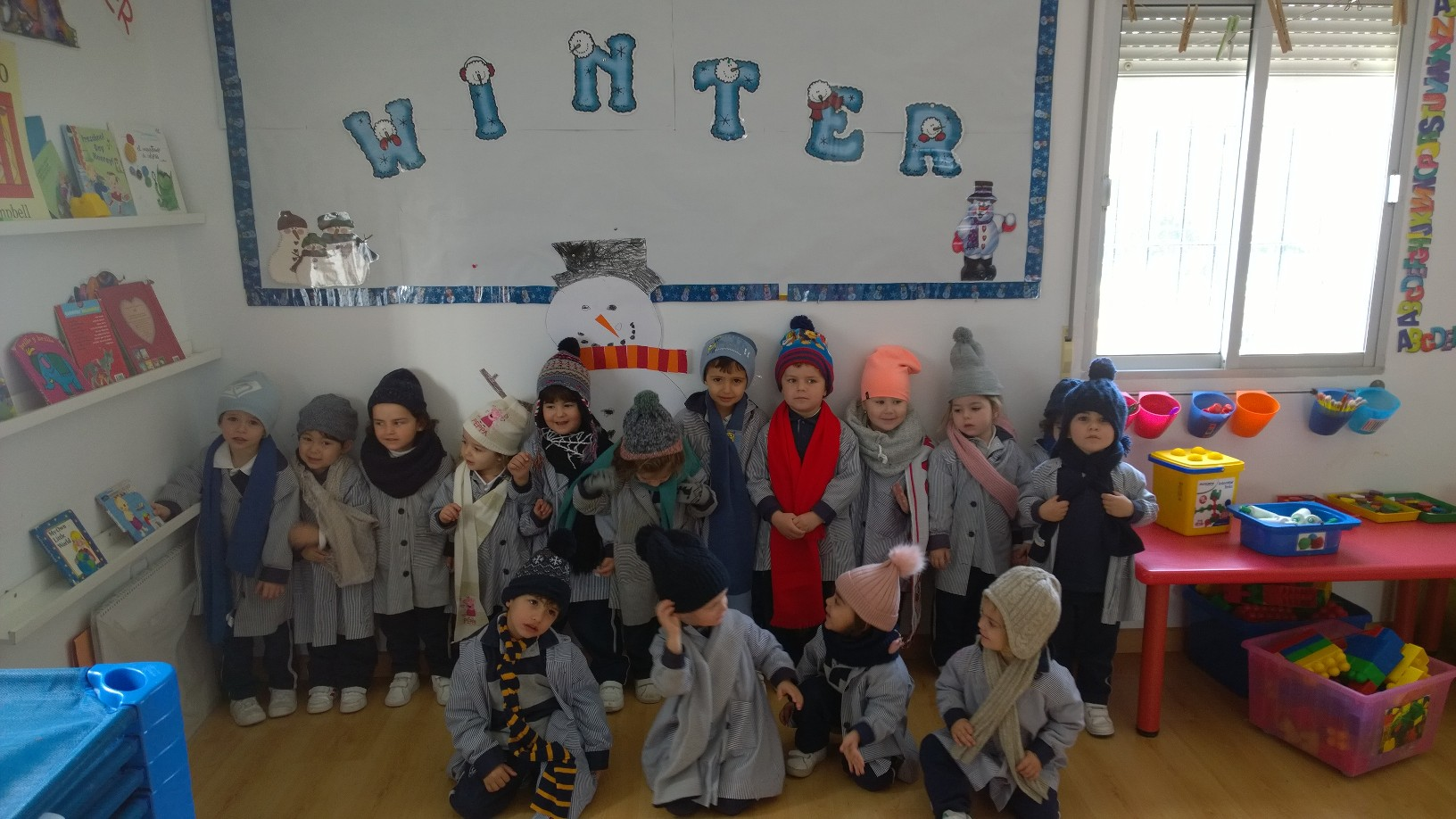 Winter Topic in our Yago Book Club for Infant 3
