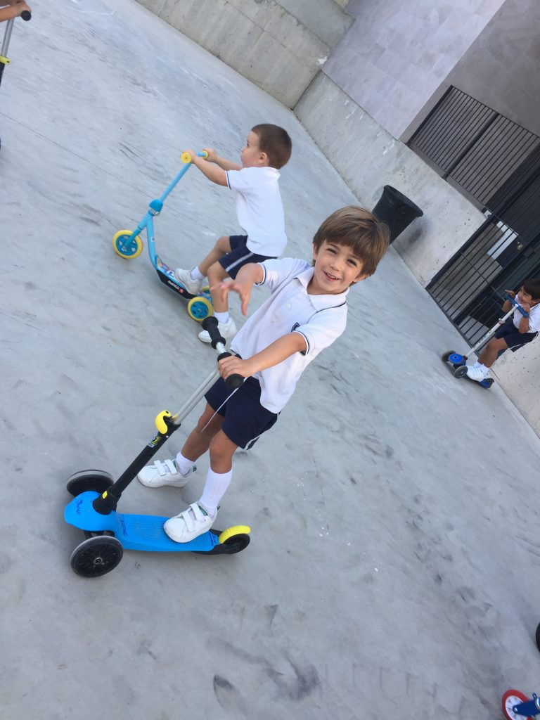 Wheels Day in Infant 4
