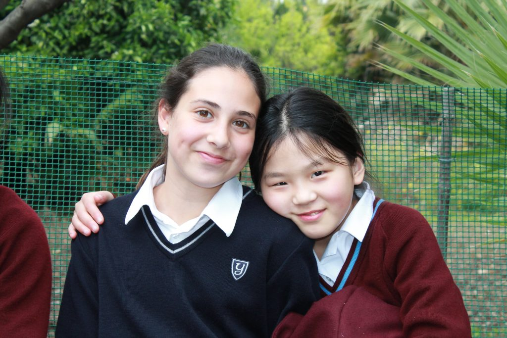 Chinese children visiting from Riddlesworth Hall School