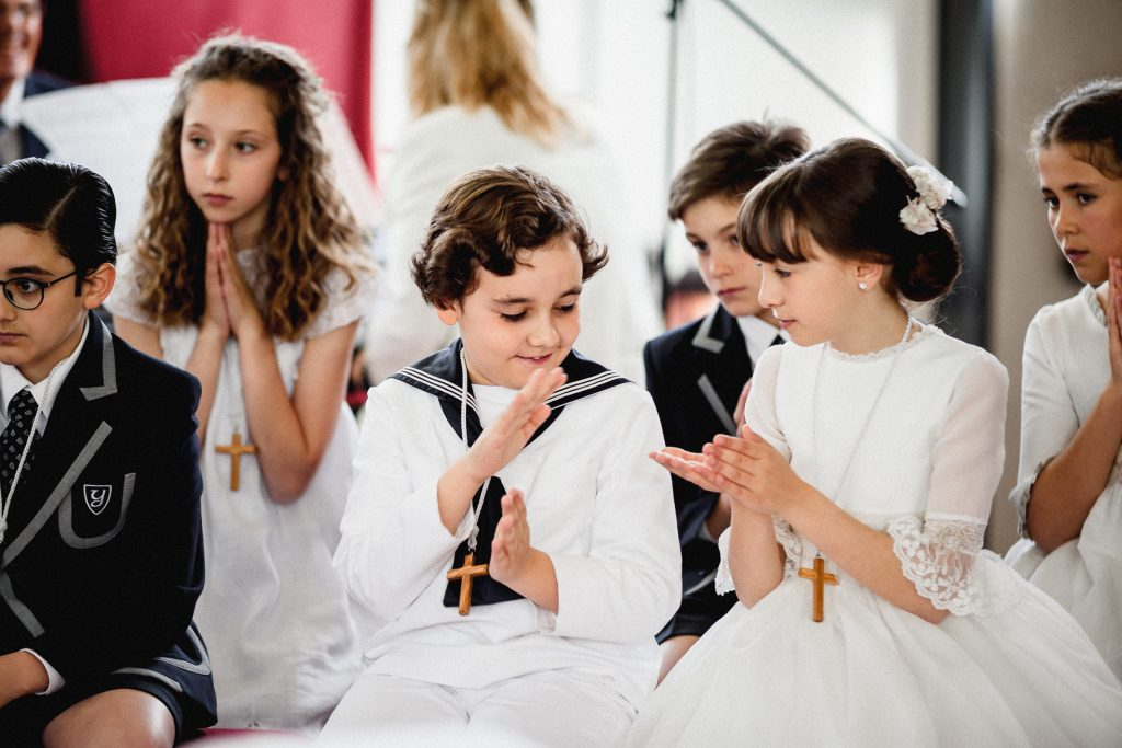 FIRST COMMUNIONS IN YAGO SCOOL