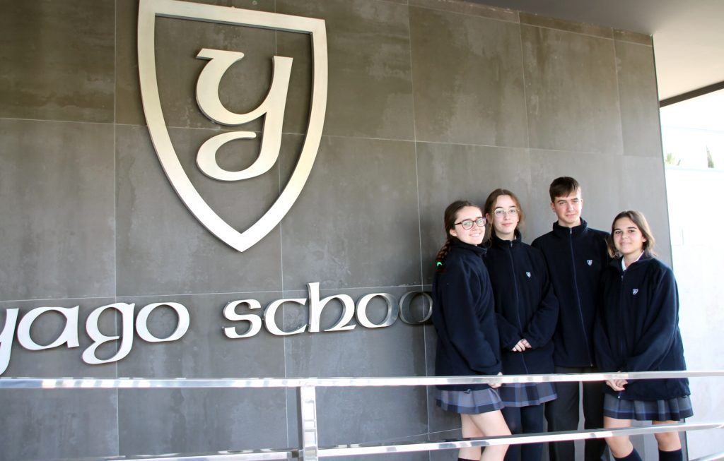 4 YAGO SCHOOL STUDENTS WITH SCHOLARSHIPS IN THE SEVILLA SPUTNIK TRANSFORMATION PROJECT