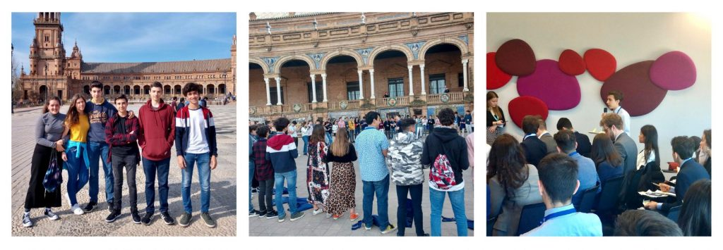 YAGO SCHOOL STUDENTS PARTICIPATE IN THE SPAIN EUROPEAN YOUTH PARLIAMENT, SEYP