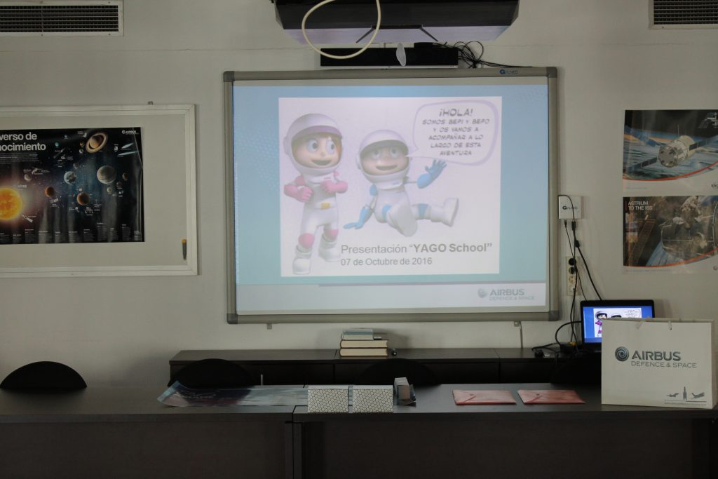 teaching about space