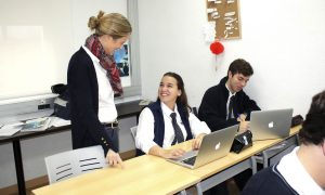 WE ACCOMPANY AND GUIDE OUR STUDENTS IN THEIR PROFESSIONAL ORIENTATION