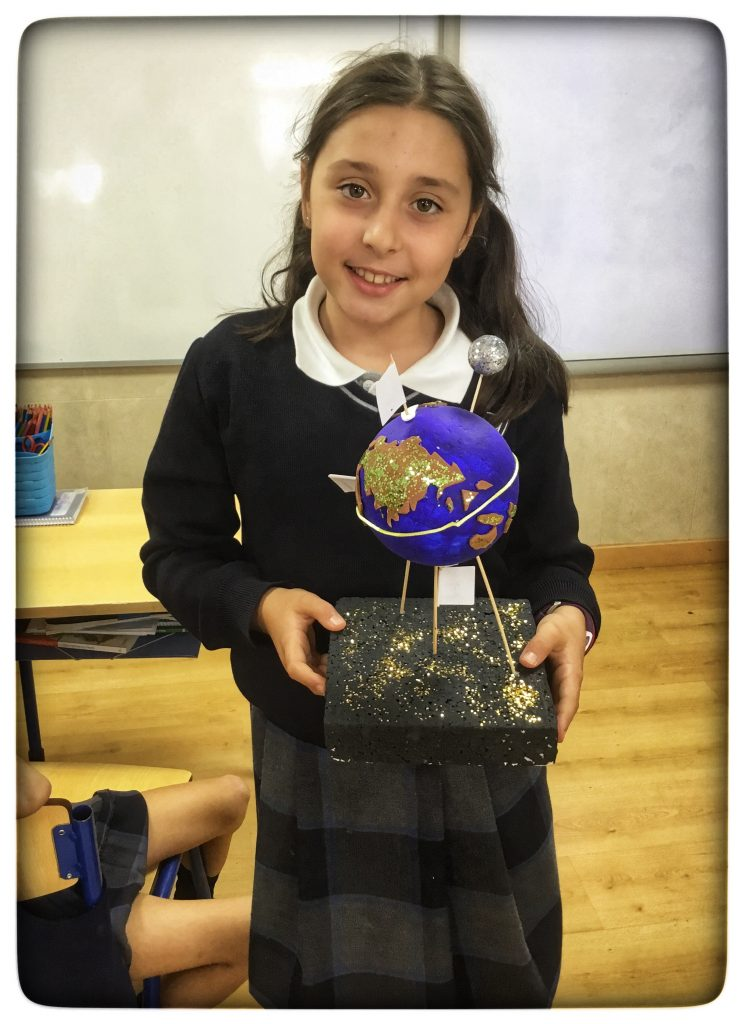 Primary 4 Science Project: Earth & Space