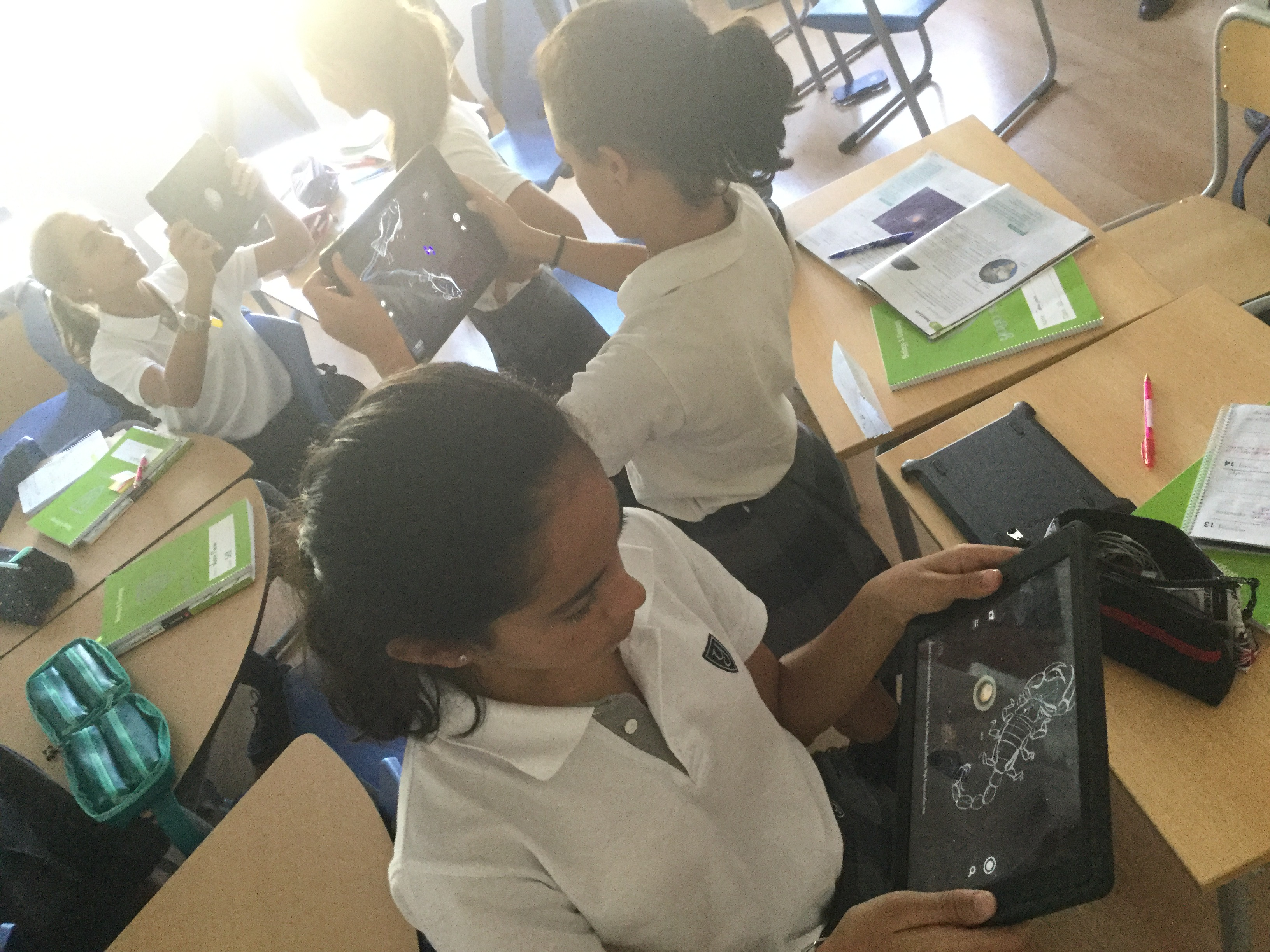Biology and Geology uses SkyView App